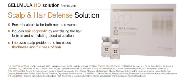 Cellmular HD Ampullen - Hair regrowth